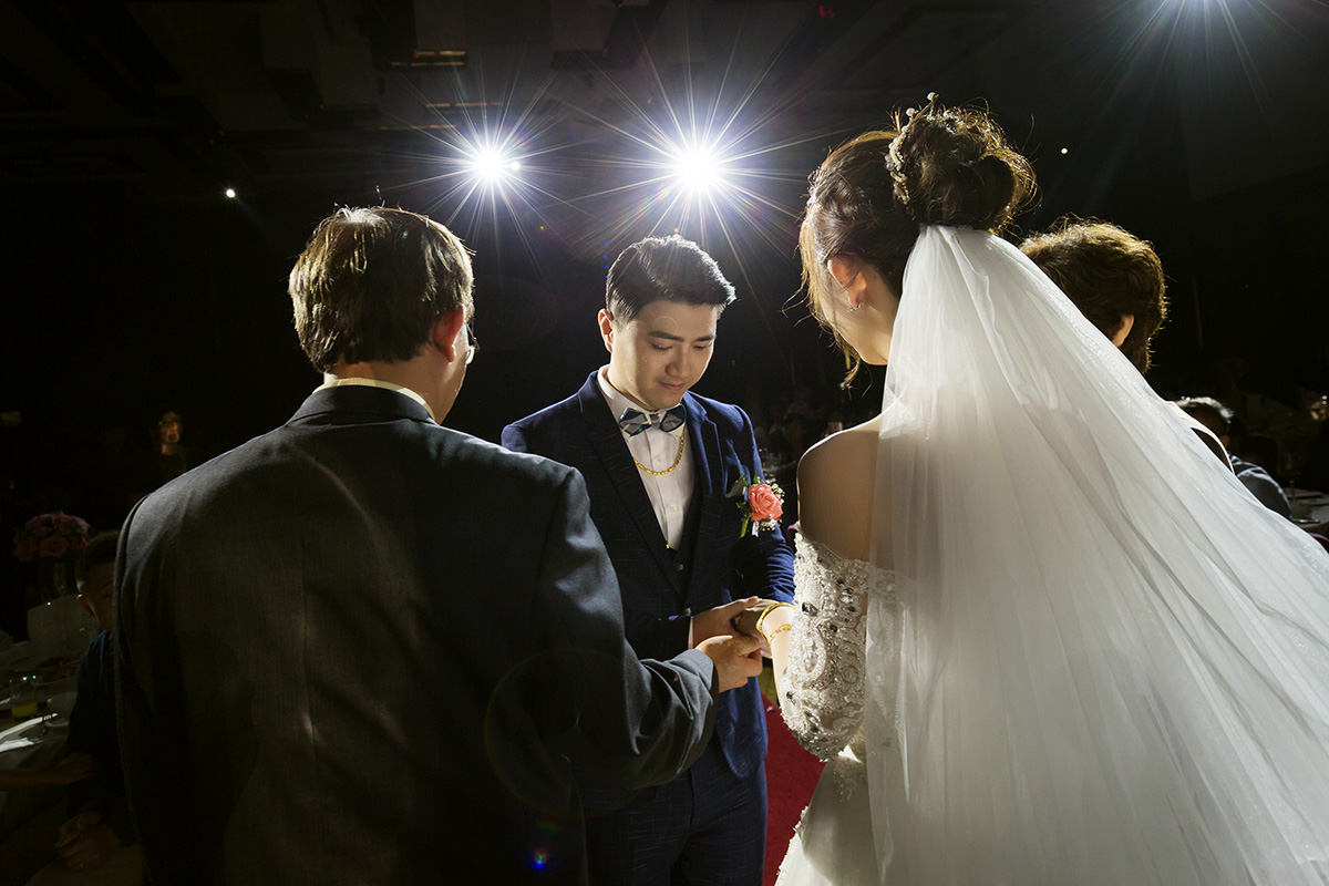 《台北婚攝》邊哭邊笑的婚禮 / 板橋凱撒大飯店