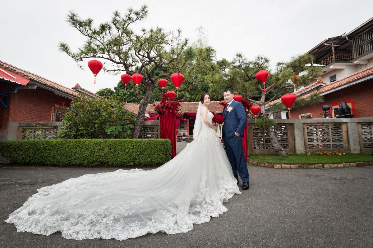 《彰化婚攝》自家三合院濃濃中國風 / 戶外婚禮
