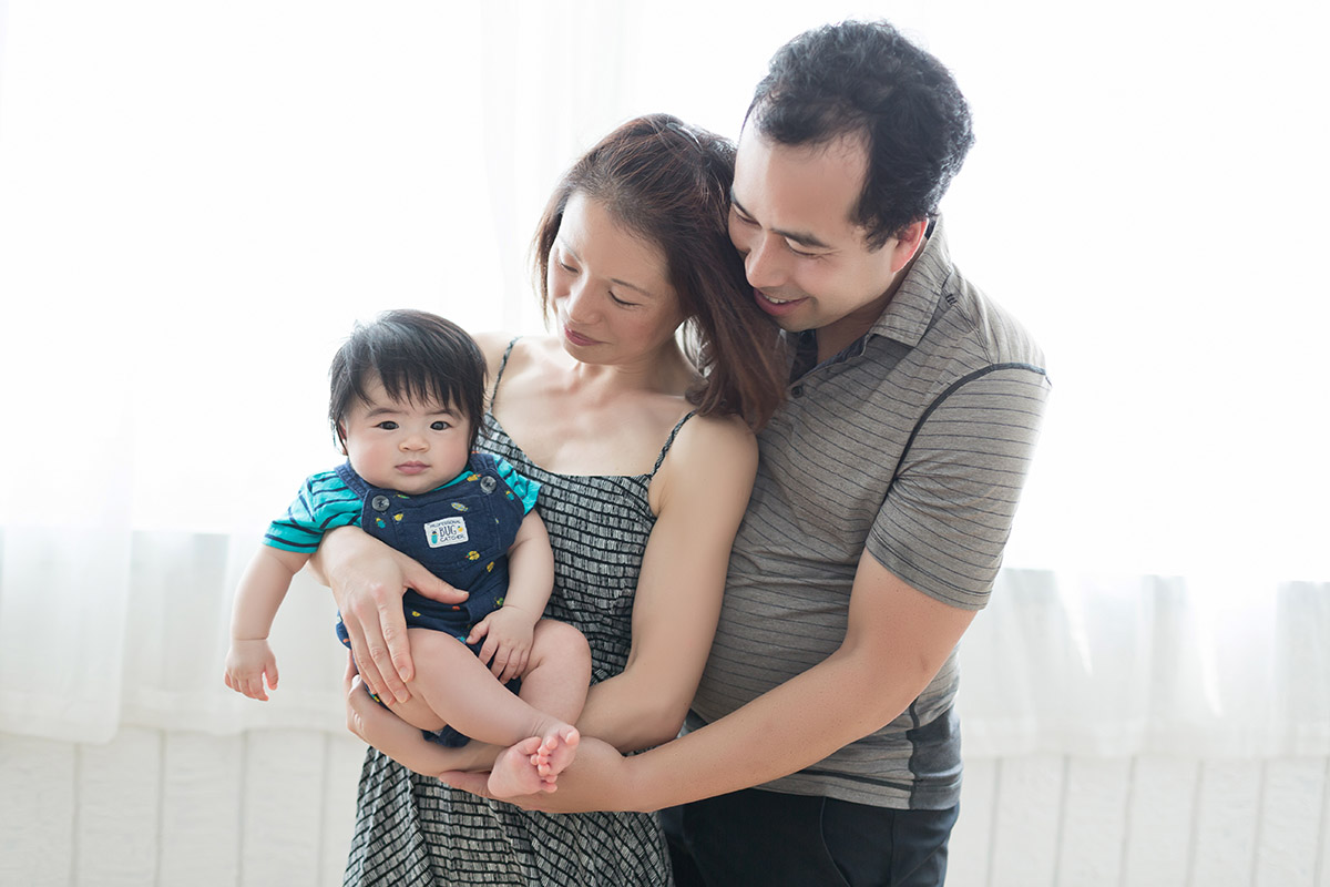 《新生兒嬰兒寫真攝影》濃眉大眼的BABY-IAN / 台中推薦
