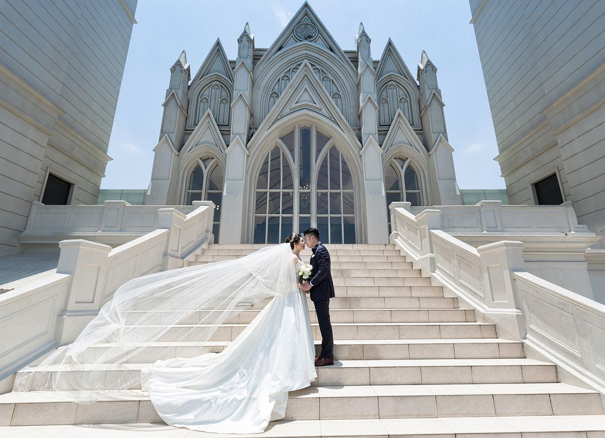 《台北婚攝》來自上海的幸福教堂婚禮 / 翡麗詩莊園