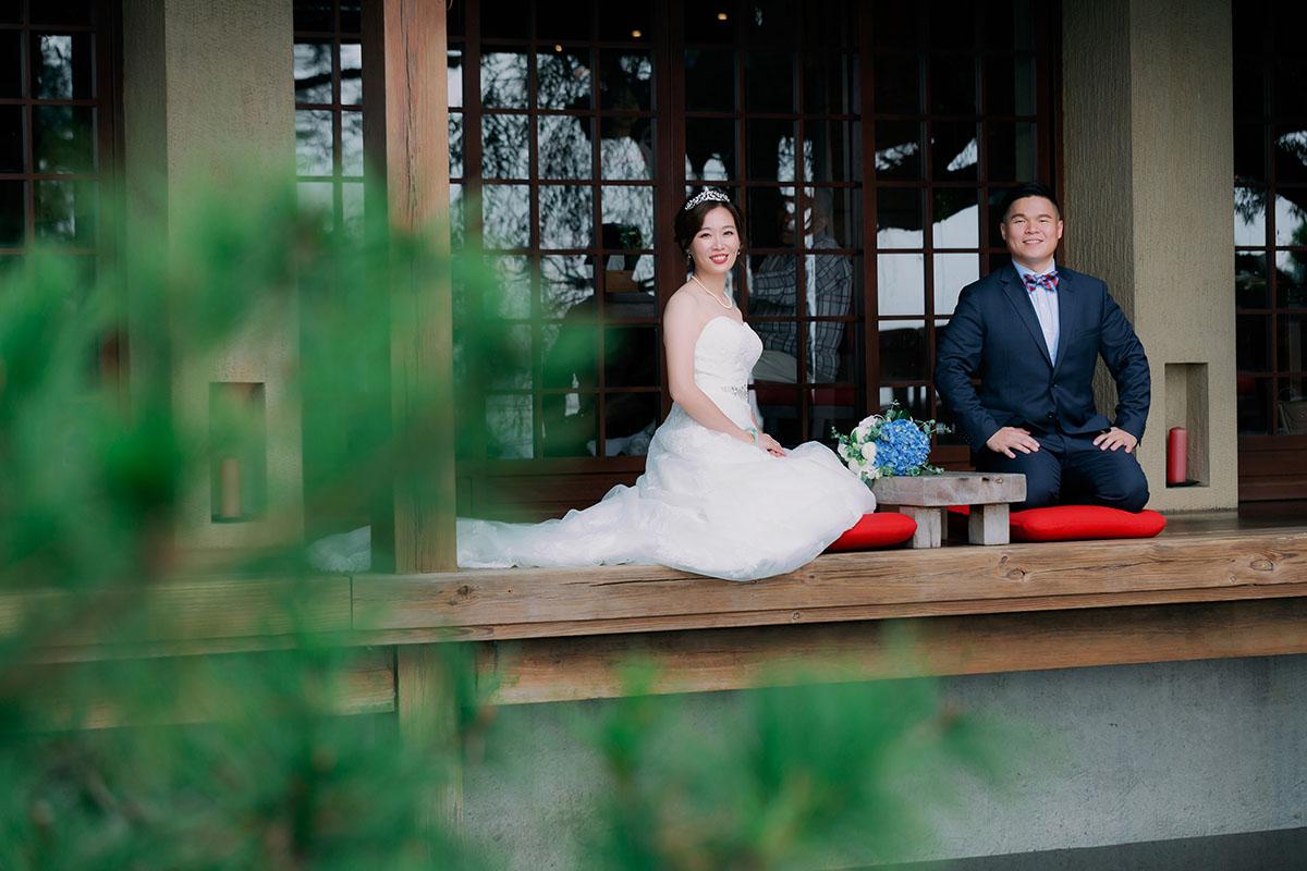 《台中婚攝》幸福相伴的起點 / 又見一炊煙類婚紗戶外婚禮