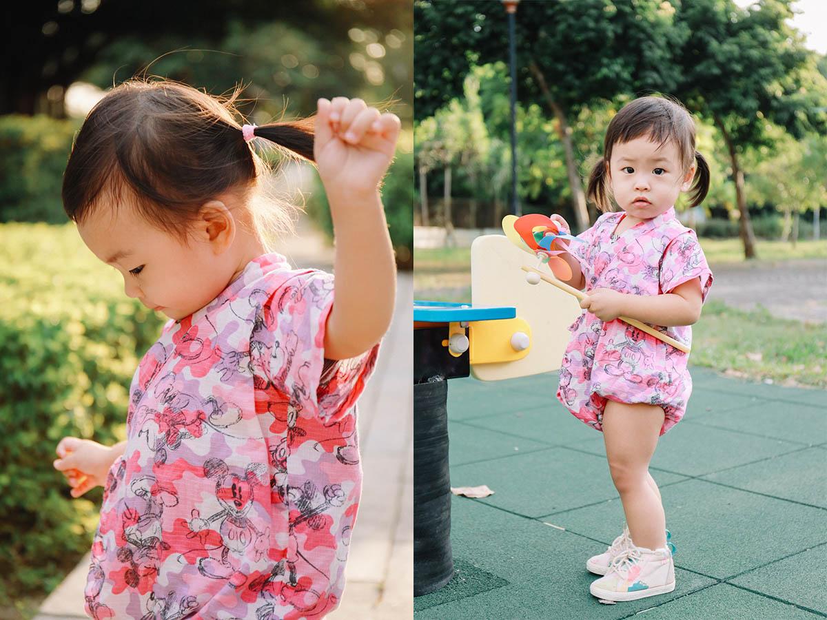 《親子兒童寫真攝影》日本兒童浴衣小甚平 / 台中軟體園區